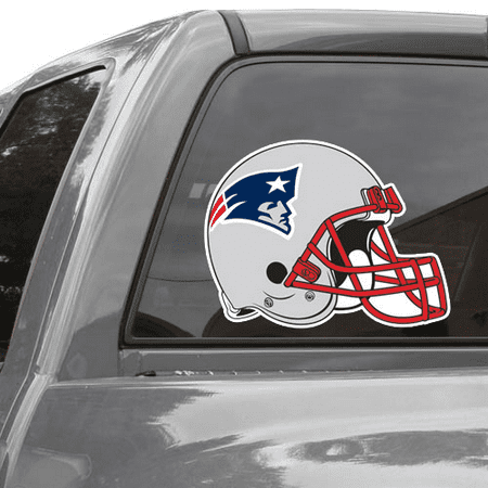Patriots Car Sticker (New England Patriots 11'' x 17'' Helmet Ultra Decal Window Cling - No)