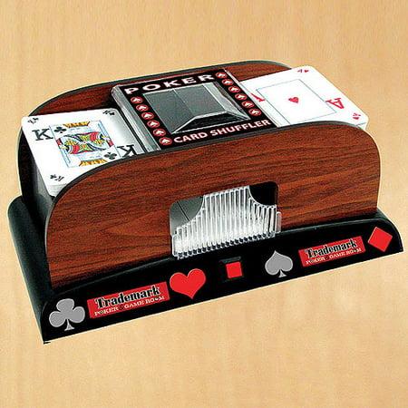 how to build a card shuffler