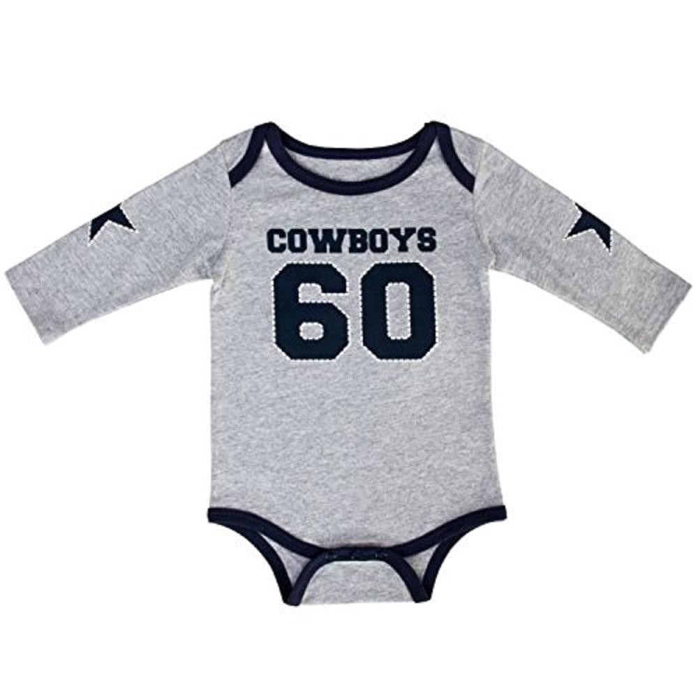 1f69fdb5a4e Dallas Cowboys Infant Walden Bodysuit - Walmart.com