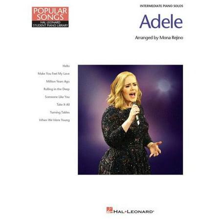Hal Leonard  Adele   Popular Songs Series   Piano Solo