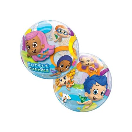 "Bubble Guppies 22"" Balloon (Each) - Party Supplies"