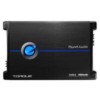 Planet Audio Torque 4000W Monoblock Class D Amplifier with Remote   TR4000.1D