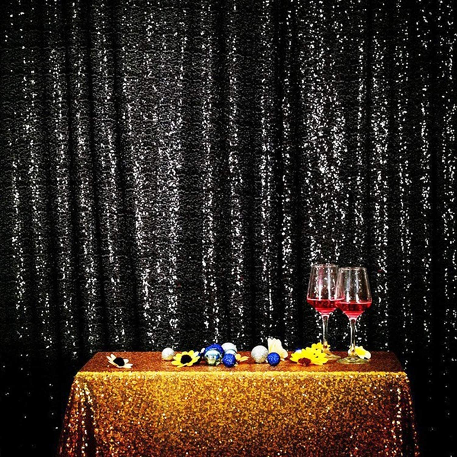 Sequin Backdrop Curtain 8ft X 4ft Sequin Photography Backdropwedding Photo Booth Backdrop Background Birthday Party Curtain Christmas Prom Backdrop Decoration Walmart Canada