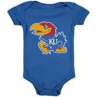 Kansas Jayhawks Infant Big Logo Bodysuit - Royal