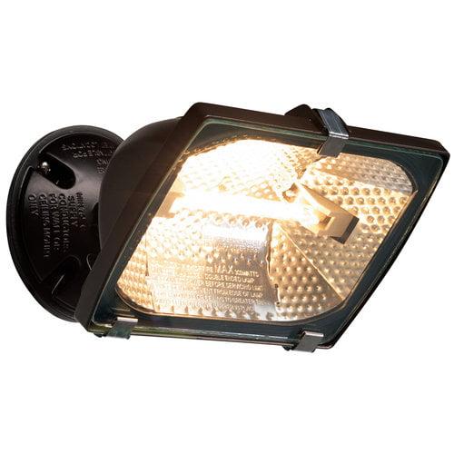 Brinks 300W Halogen Flood Security Light, Bronze