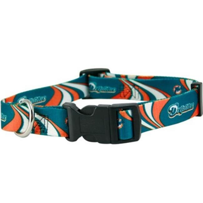 DoggieNation Miami Dolphins Dog Collar