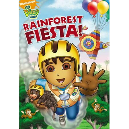 Go Diego Go: Rainforest Fiesta (DVD) (Go Diego Go Halloween Movie)