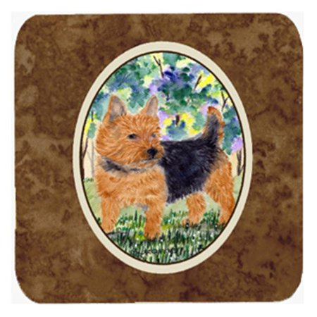 Carolines Treasures SS8218FC Norwich Terrier Foam Coasters - Set 4 - image 1 of 1