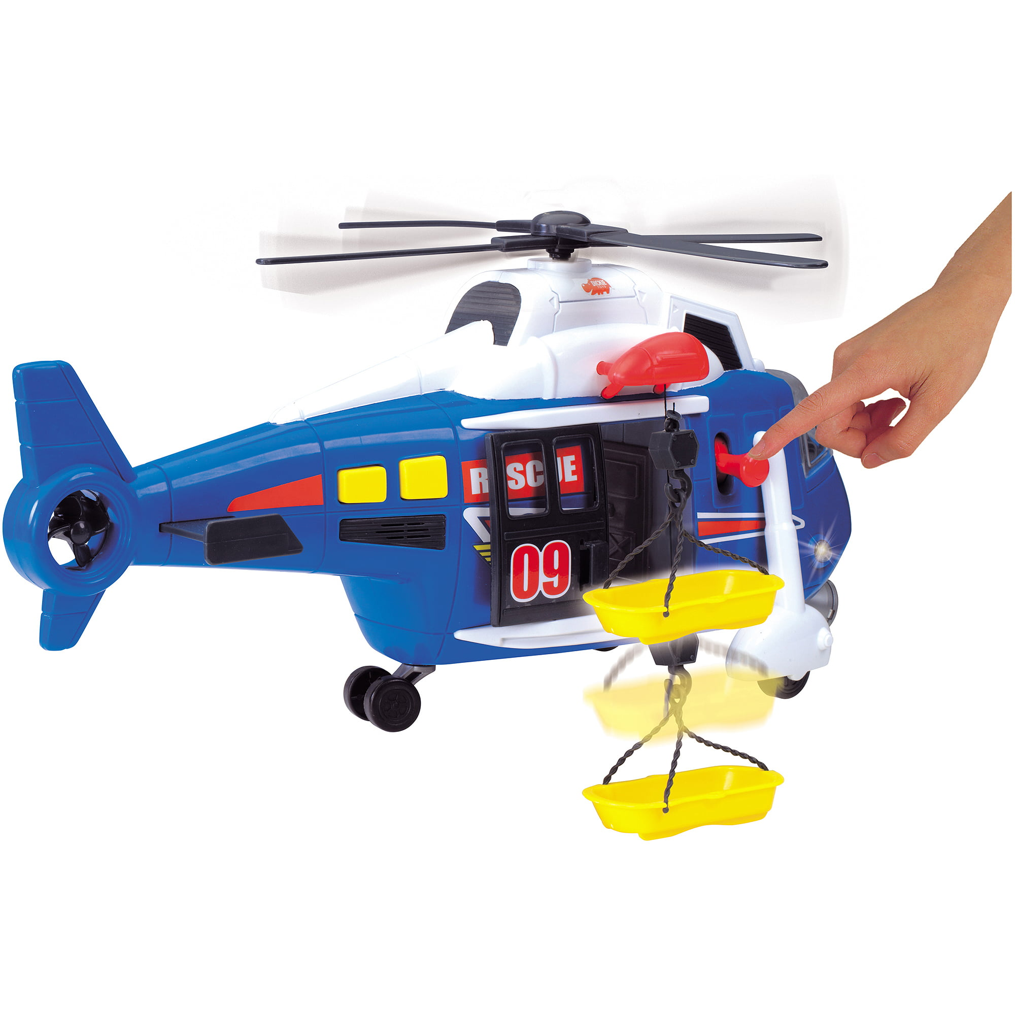 Dickie Toys Majorette Action Series Helicopter by Dickie Toys HK Ltd