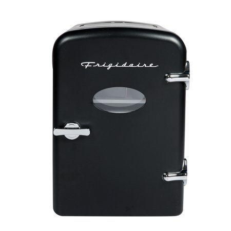 Frigidaire Portable Retro Extra Large 9-Can Mini Fridge EFMIS175, Black