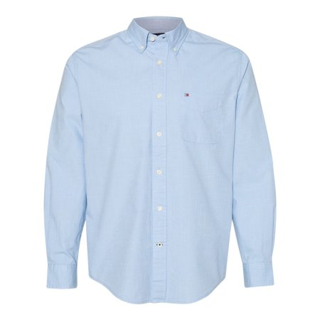 Tommy Hilfiger Men Capote End-on-End Chambray Shirt