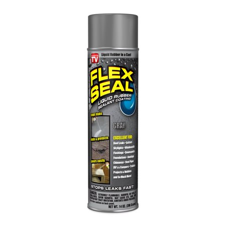 Flex Seal Spray Rubber Sealant Coating, 14-oz, Gray ()
