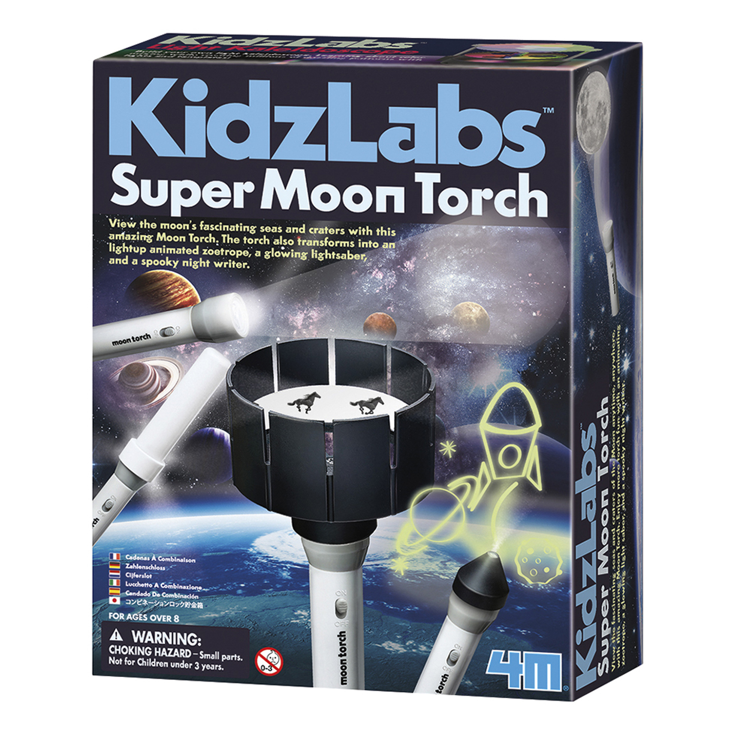 Super Moon Torch - Science Kit by Toysmith (4976)