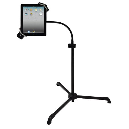 PYLE PMKSPAD2 - Universal Tablet PC/Android/Kindle/iPad Floor Stand For Music, Reading, Bedside Use,Fitness (Best Tablet For Reading Music)