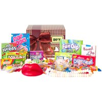 Candy Crate Old Fashioned 1980s Sweets Decade Gift Box