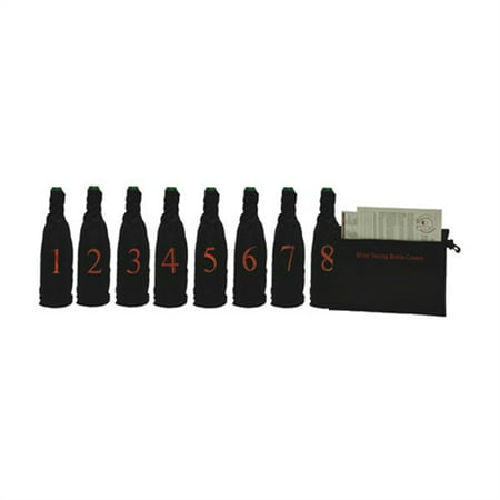 Tasting Party Supplies (Blind Wine Tasting Kit for 8)
