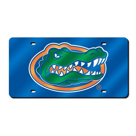Florida Gators Official NCAA 12 inch x 6 inch  Plastic License Plate by Rico Industries (Gator Dad License)