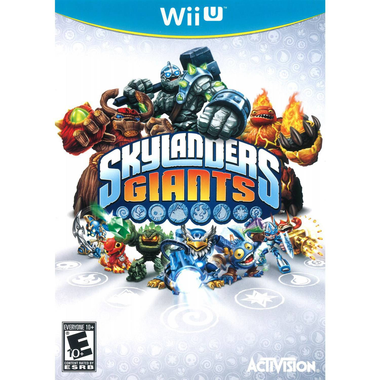 Skylanders Giants Wii U Giants Starter Pack