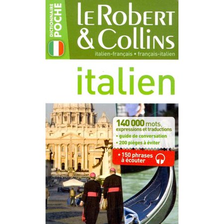 Le Robert   Collins Poche Italien  French Italian Dictionary