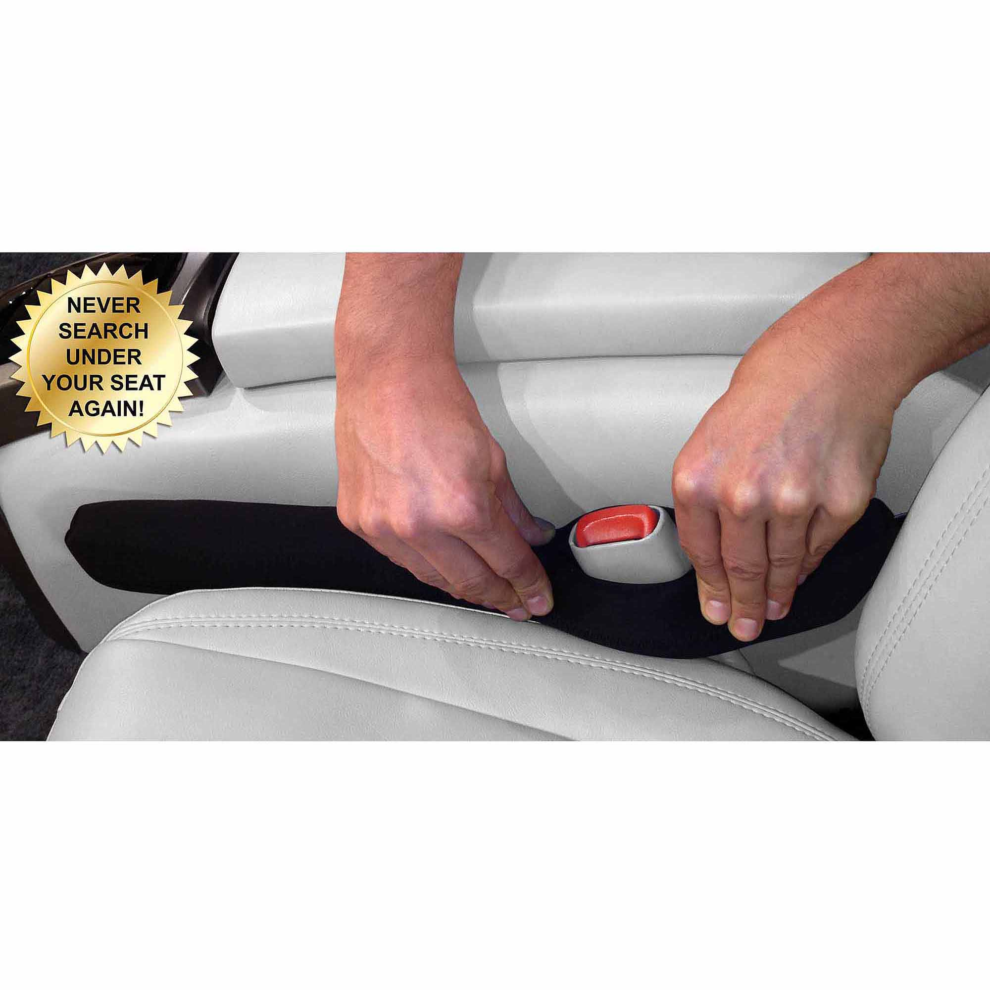 Drop Stop Automotive Car Seat Gap Filler, (As Seen on TV, Shark Tank), 1 unit
