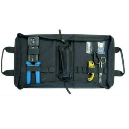 platinum tools 90151 ez-rj45 hd basic termination kit, w/zip case. (Platinum Kit)