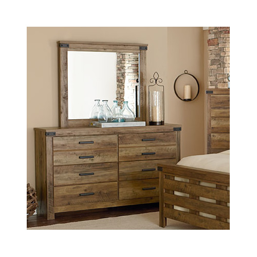 Standard Furniture Montana 6 Drawer Dresser with Mirror