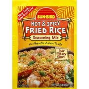 Sun-Bird Hot & Spicy Fried Rice Seasoning Mix, 0.75 oz, (Pack of 24)