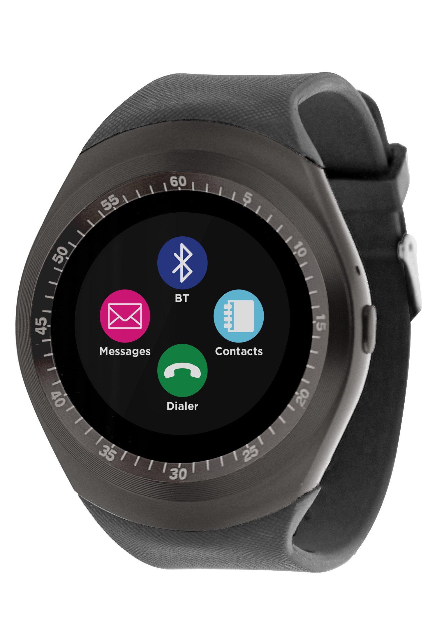 Bluetooth Smart watch phone and Fitness Activity Tracker Touch Screen Smart Wrist Watch