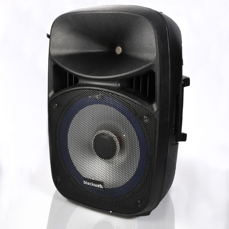 Blackweb 1500-Watt Light-Up Pa Speaker