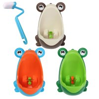 Portable Frog Potty Toilet Urinal Training for Children Boys Toddler Baby Bathroom Accessories with Funny Aiming Pee Target Home Bathroom