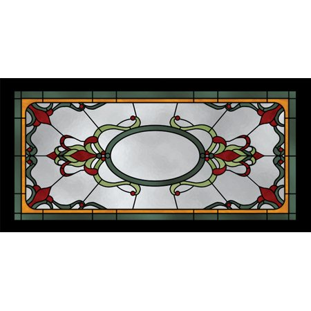 - Fluorescent Decorative Ceiling Light Covers - 2ft x 4ft film - Pool Pub Stained Glass
