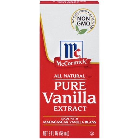 McCormick All Natural Pure Vanilla Extract, 2 fl - Lemon Vanilla Extract