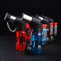 Small Kitchen Butane Torch Culinary Chef Cooking Blow-Torch Lighter Mini Food Craft Portable Plastic Ignition Burner