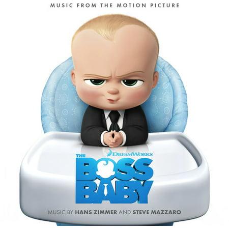 The Boss Baby Soundtrack (CD) (Digi-Pak)