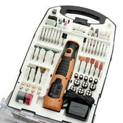 PrimeCables® 7.2V Cordless Rotary Tool with 110pcs Accessories Kit for Carving Engraving and Cutting