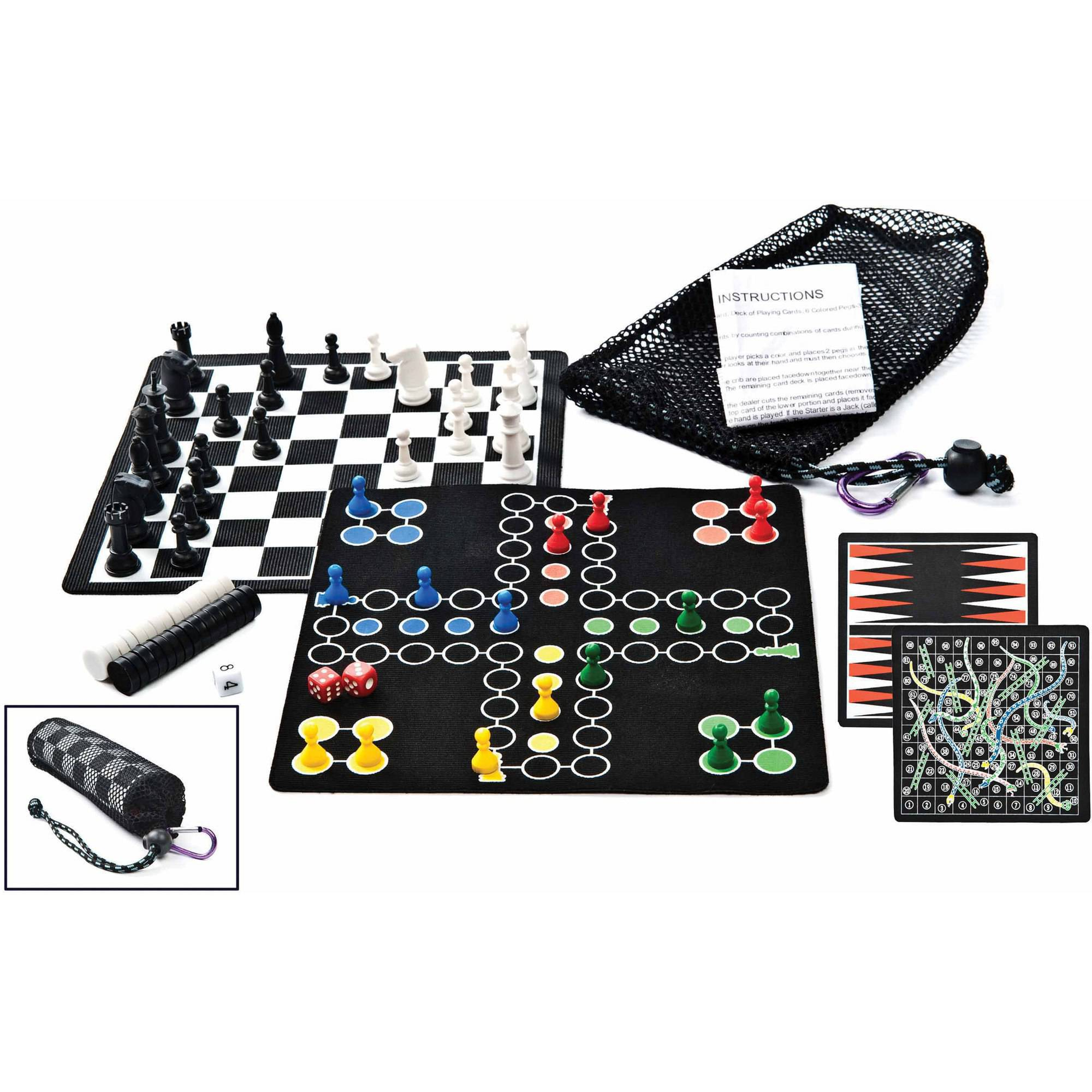 GSI Outdoors Roll-Up 5-in-1 Game Set