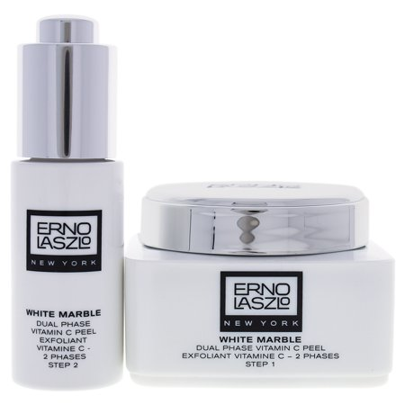 Erno Laslo White Marble Dual Phase Vitamin C Facial Peel 2Pc. Set