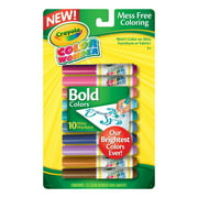 Crayola 10 Countcolor Wonder Mini Markers, Vivid Colors