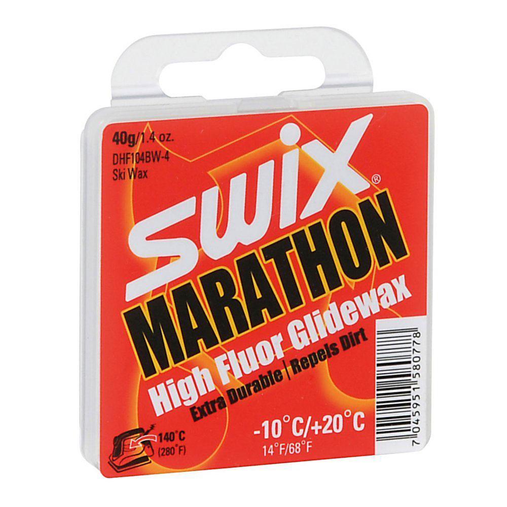 Swix Marathon HF Glide Cross Country Ski Wax 40 g DHF104BW