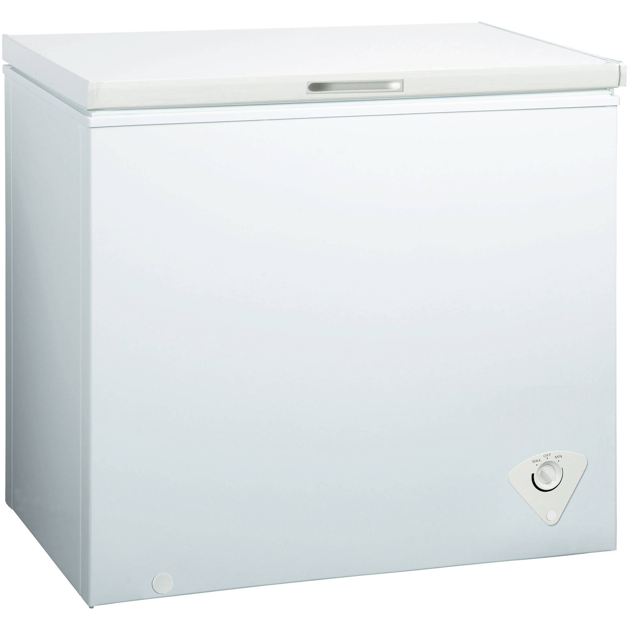 midea 102 cubic foot upright chest freezer white