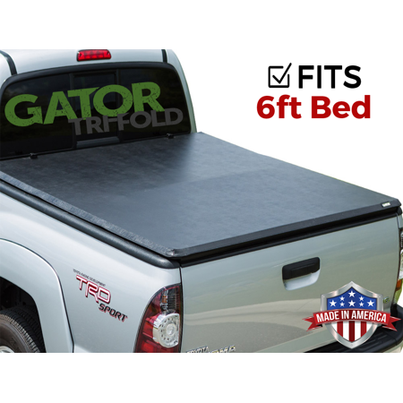 Gator ETX Tri-Fold (fits) 2005-2019 Nissan Frontier 6 FT Bed w/o TS Only Tonneau Truck Bed Cover Made in the USA - Nissan Frontier Truck Tent