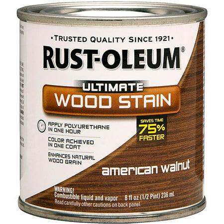 - Rust-Oleum Ultimate Wood Stain, 8oz