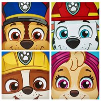 Nickelodeon Paw Patrol Pup 4 Pack Canvas Wall Art