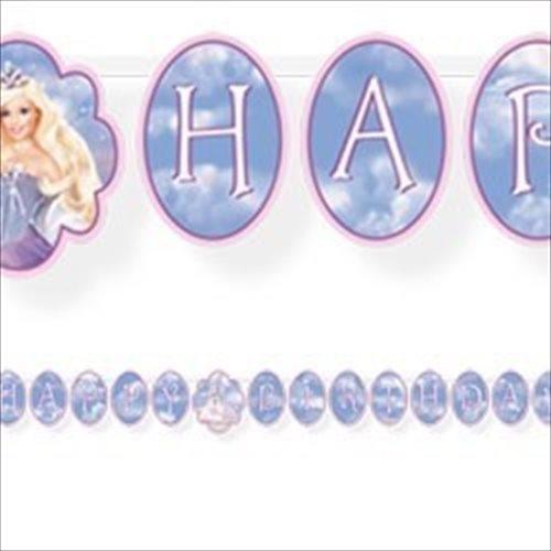 Barbie 'Magic of Pegasus' Happy Birthday Banner (1ct)