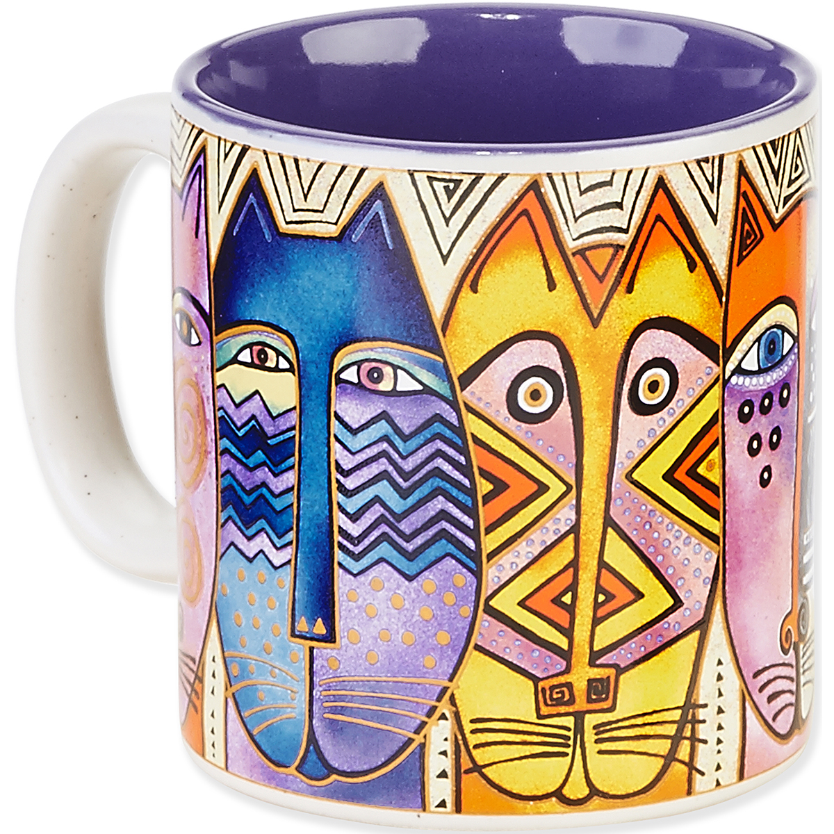 Laurel Burch Artistic Mug Collection-Tribal