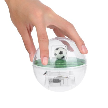 Handheld Electronic Football Player with LED Light & Cheers Decompression Toy
