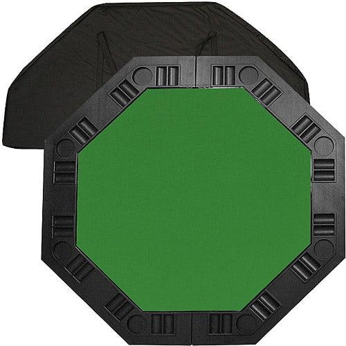 "Trademark Poker 48"" 8-Player Octagonal Table Top, Green"