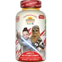 Sundown Naturals Kids Star Wars Complete Multivitamin Gummies, Berry Raspberry Pineapple, 200 Ct