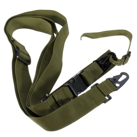 Adjustable Three Point Adjustable Gun Belt Tactical Rifle Sling Airsoft Paintball Hunting Gun Strap Outdoor Camping CS Survival ()