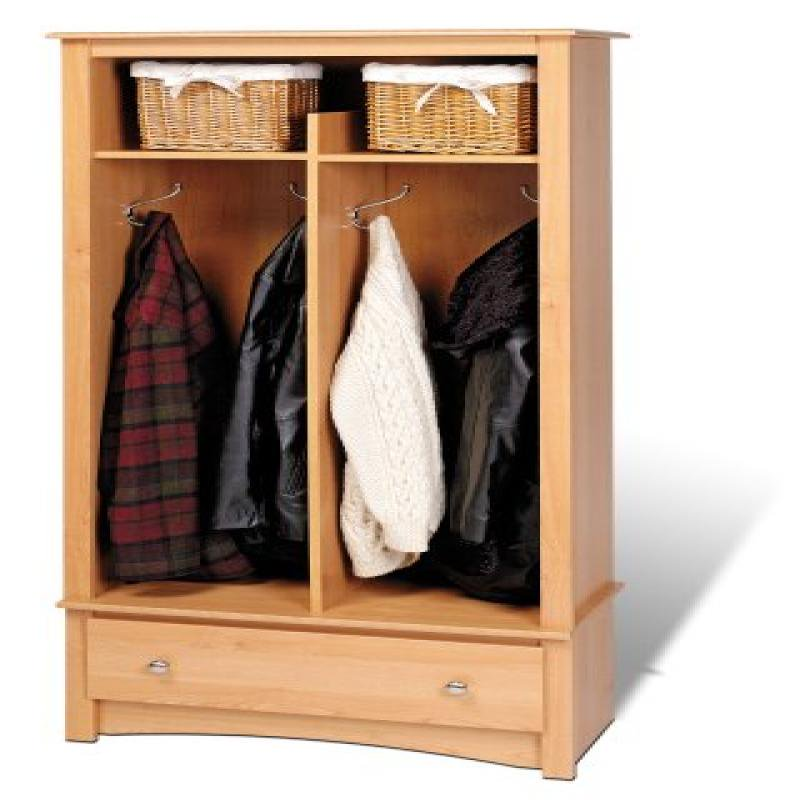 Prepac Sonoma Maple Entryway Organizer